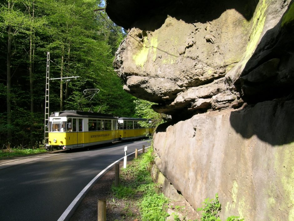 Křinická tramvaj | Foto © VVO GmbH, Schmidt